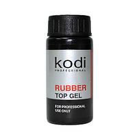 Rubber Тор Gel - Каучук. финишное покрытие без кисточки для гель лаков, 22 мл