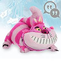 """Говорящая мягкая  игрушка Чеширский Кот  """"Алиса в Стране чудес"""" Disney"""