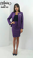 Деловой женский костюм л-5410329