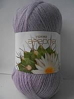 Пряжа для ручного вязания Ареола акрил №10 гиацинт