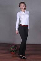 Деловые женские брюки черного цвета