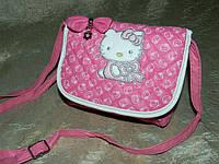 Детская розовая сумочка Hello Kitty для девочек 08