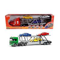 Автомобиль-перевозчик с машинками, (в ассорт.) 3414481 ТМ: Dickie Toys