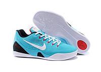 Кроссовки мужские баскетбольные Nike Zoom  Kobe 9  (найк леброн, оригинал) голубые