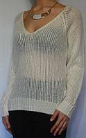 Стильная женская кофта с V-образным вырезом