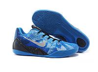 Кроссовки мужские баскетбольные Nike Zoom  Kobe 9  (найк леброн, оригинал) синие
