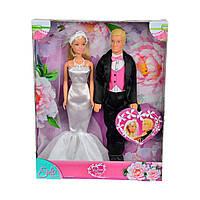 """Кукла Штеффи и Кевин """"Свадебный день"""", 29 см. 5732346 ТМ: Simba"""