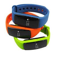 Умный Bluetooth фитнес браслет ( шагомер, пульсометр, счетчик калорий)