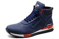 Ботинки зимние Nike Airmax, мужские, темно-синие, р. 44, фото 1