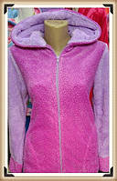 Махровая женская турецкая зимняя пижама