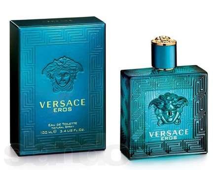 Versace Eros туалетная вода 100 ml. (Версаче Ерос) - Интернет-магазин парфюмерии JD-Kristall — духи, туалетная вода Versace, Givenchy, Dior в Киеве