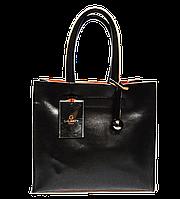 Элегантная женская кожаная сумка GALANTY коричневого цвета WQY-765442