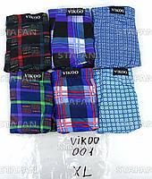 Мужские трусы боксеры Vikoo 001 XL 48-50. В упаковке 6 штук