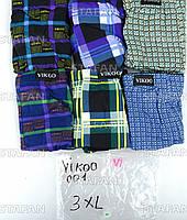 Мужские трусы боксеры Vikoo 001 3XL. В упаковке 6 штук