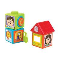 Развивающие кубики, (4 шт.) 4209T ТМ: Hap-p-kid