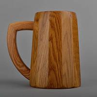Кружка пивная деревянная для декора