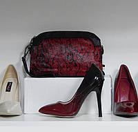 Клатч (сумочка) бодровая из меха пони и эко-кожи