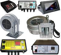Акция!!! Вентилятор и блок автоматики для твердотопливных котлов