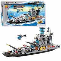 Конструктор военный корабль JUBILUX J 5627