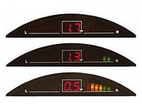 Парктроник 4 датчика LED-цвет.дисплей с индикацией Intec