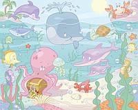 Детские фотообои Walltastic Бейби - Подводный мир