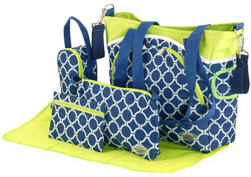 Оригинальный набор сумок для мам Traum 7010-15 синий