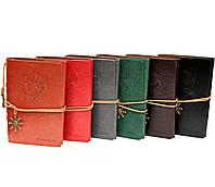 Блокнот Aventura Серия Adventure морская тематика Темно-коричневый, Зеленый, Красный