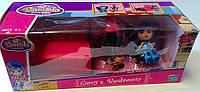 Мебель для кукол Barmila + куколка 1601К232 Китай