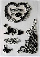 Набор силиконовых штампов, день святого Валентина