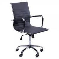 Кресло руководителя Слим LB(ХН-632В) черное