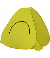 Палатка зимняя Comfortika автомат. 1,5 х 1,5 м желтая