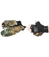 Рукавицы-перчатки Tagrider 0822 беспалые КМФ XXL