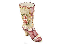 """Ваза керамическая """"Ботинок"""" высота 28 см Lefard 59-497"""