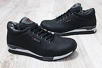 Зимние ботинки ECCO черного цвета