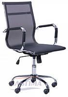 Кресло Слим Net LB (ХН-633B) черное