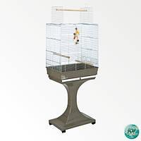 FOP SORAYA - клетка для мелких и средних попугаев на подставке, белая (15210030)