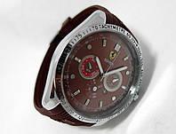Мужские часы TAG Heuer - Ferrari, коричневый циферблат