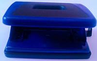 Дырокол Пластиковый с резиновой вставкой Синий ВМ4005-02 Buromax Украина