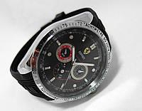 Мужские часы TAG Heuer - Ferrari, черный циферблат