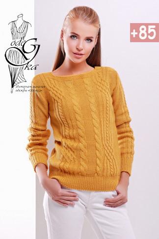 Фото Женского свитера из шерсти и акрила Адель-1