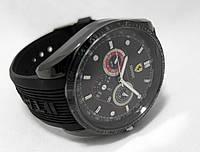 Мужские часы TAG Heuer - Ferrari, черный циферблат, full black