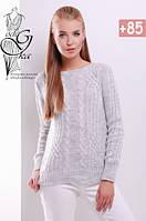 Женский свитер из шерсти и акрила Адель-2, фото 1