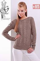Женский свитер из шерсти и акрила Адель-4, фото 1