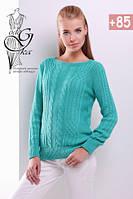 Женский свитер из шерсти и акрила Адель-5, фото 1