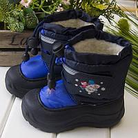 Термо-ботиночки Снеговик для мальчика