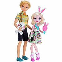 Набор из 2 кукол Эвер Афтер Хай Алистер Вондерленд и Банни Бланк - Свидание Bunny Blanc and Alistair Wonder