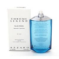 Мужская туалетная вода Azzaro Chrome Legend for Men Eu de Toilette (EDT) 125ml, Тестер (Tester)