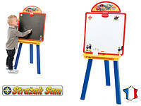 Двухсторонняя доска для творчества  Пожарный Сэм SMOBY 410604