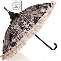 Зонт трость женский механический с UV фильтром Guy de Jean (Ги де Жан)