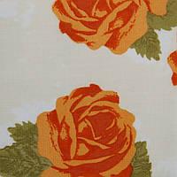 Рулонные шторы Одесса Ткань Глория Оранжевый